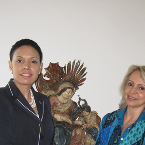 Angela Gutierrez, Vice President of the Administration Board of the Andrade Gutierrez Group and President of the Flávio Gutierrez Cultural Institute