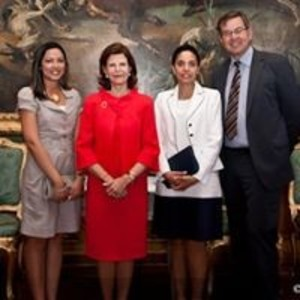 Meeting with Her Majesty Queen Silvia of Sweden