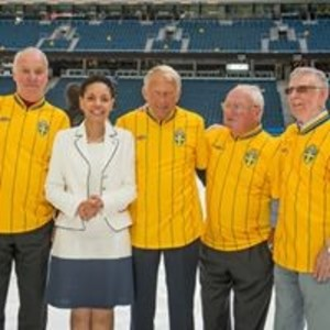 We have never gathered together, in the private sphere, so many illustrious names, representing such a diversified segment of the Brazilian and the Swedish society. This great celebration did not only unite some of the best footballers ever, but it brought our countries even closer, culturally, intellectually and commercially. Thank you Råsunda!